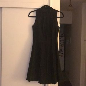 Karen Millen fit n flare black dress